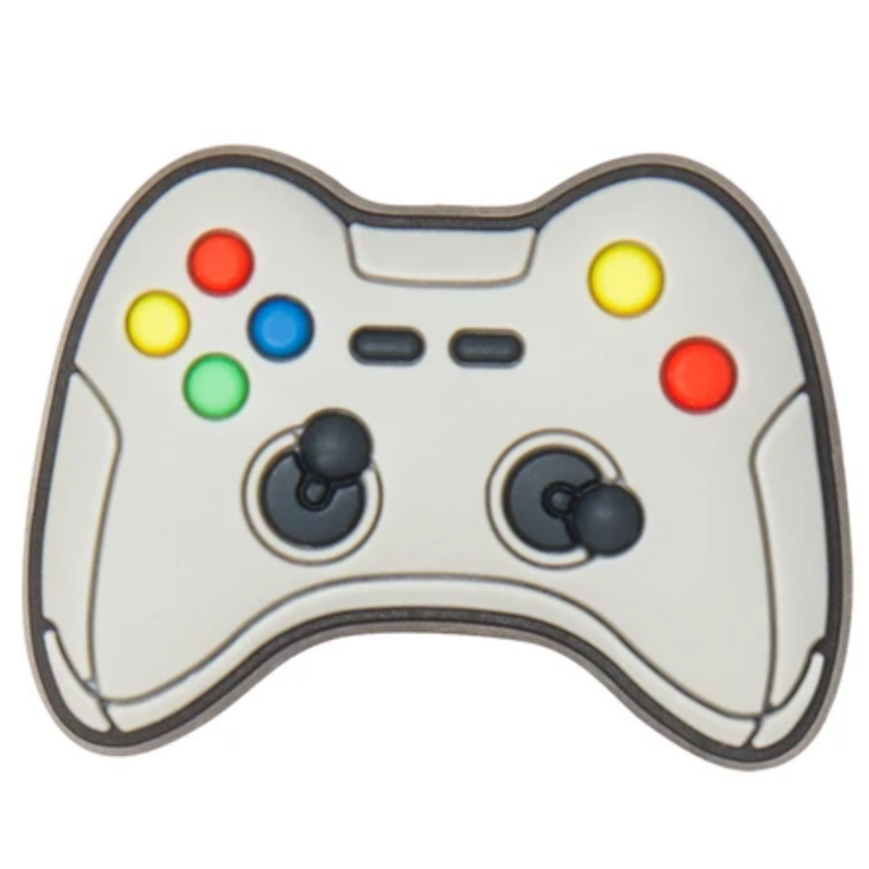 Crocs Crocs Jibbitz Grey Game Controller