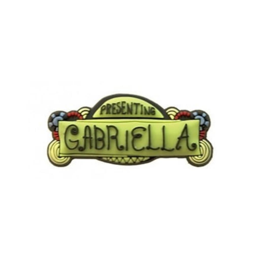 Crocs Jibbitz H.S Musical GABRIELLA