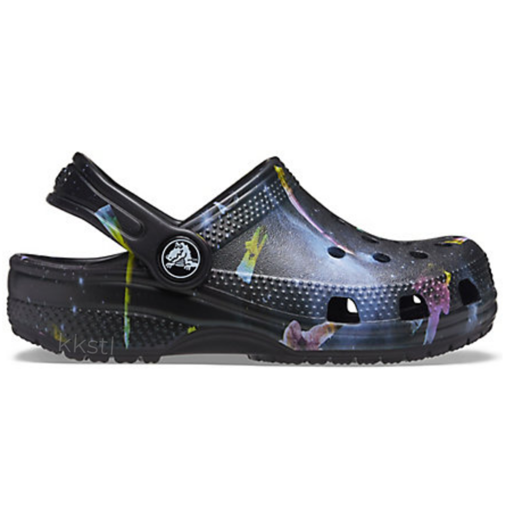 Crocs Crocs Kids Classic Clog Out Of This World Black