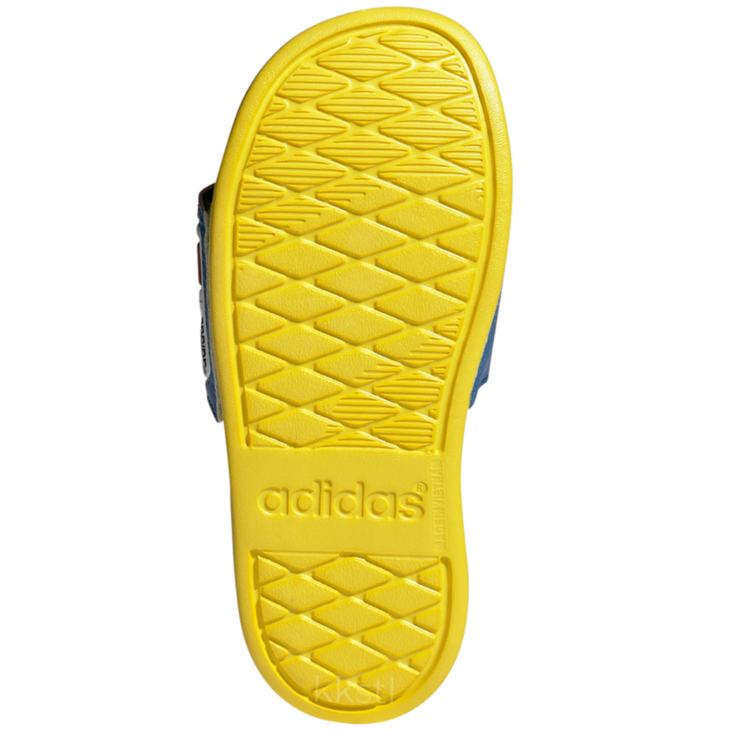 Adidas Adidas Adilette Comfort K SHOBLU/RED/YELLOW