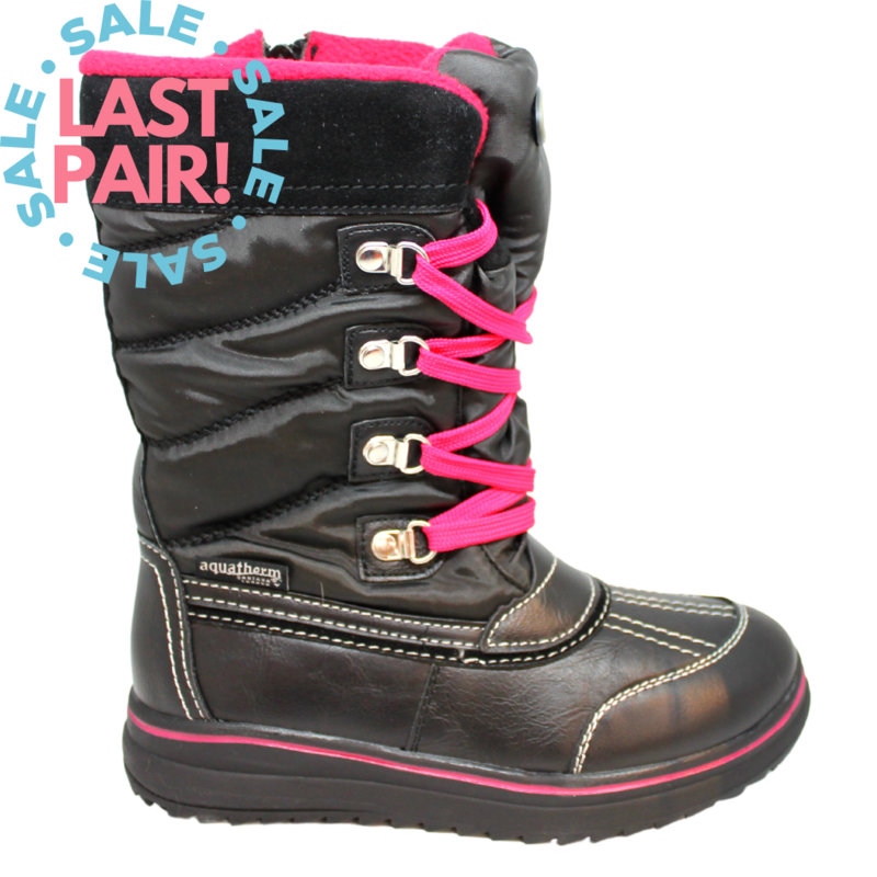 Ryder Boot Black/Fuschia (Child 2)