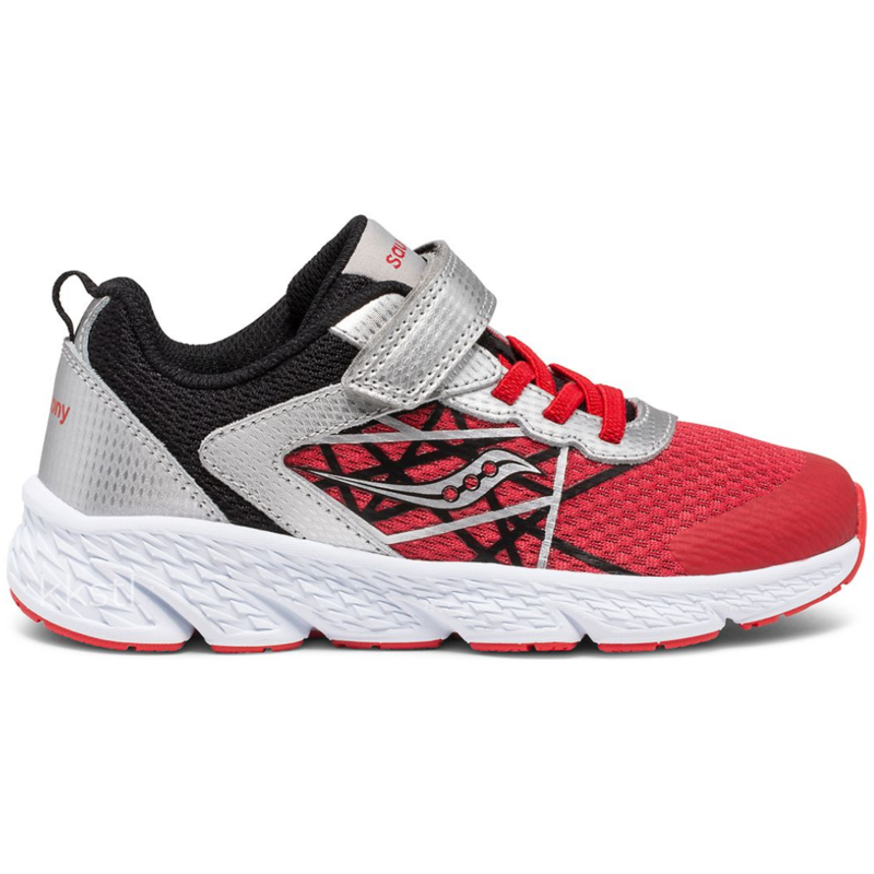 Saucony Saucony Wind A/C Silver/Red/Black