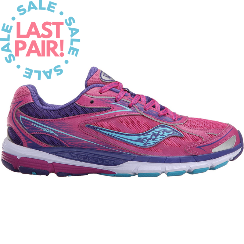 Saucony Saucony Ride 8 Pink/Purple (Youth 5 + 5.5)