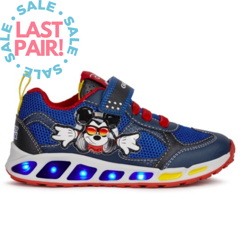 Geox Geox Shuttle Mickey Navy/Red (Child 9 + 11)