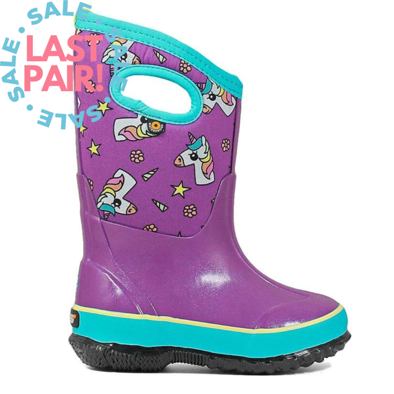 Bogs Bogs Classic Design a Boot Unicorns (Youth 6)