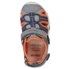 Geox Geox B Sandal Multy Grey/Fluo Orange