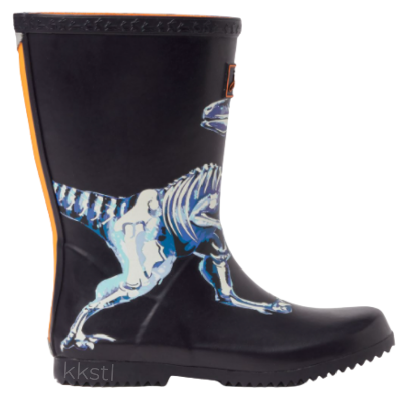 Joules Joules Roll Up Welly Navy Raptor