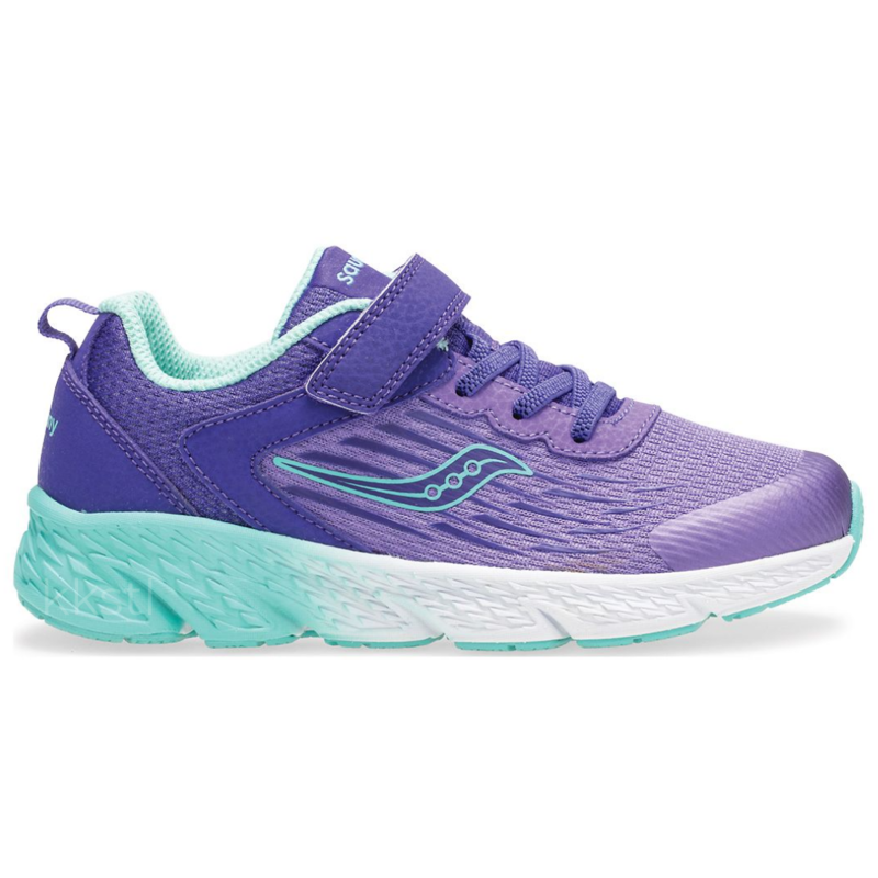 Saucony Saucony Wind A/C Purple Youth 6.5 + 7