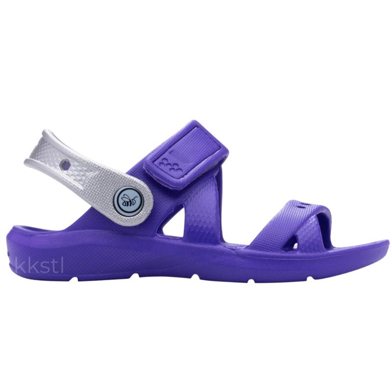 Joybees Joybees Kids' Adventure Sandal Violet/Silver