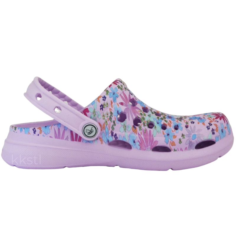 Joybees Joybees Kids' Active Graphic Clog Painterly Floral