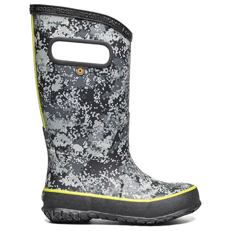 Bogs Bogs Rainboot Micro Camo Black Multi