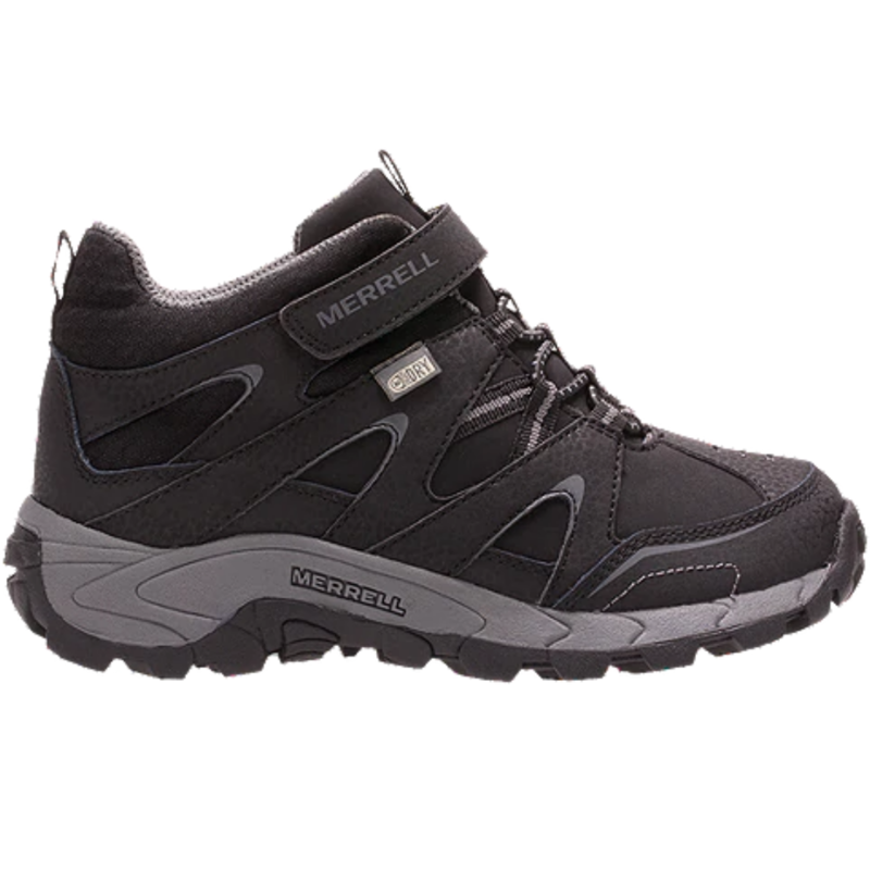 Merrell Merrell Light Tech Leather Waterproof Black Youth 7