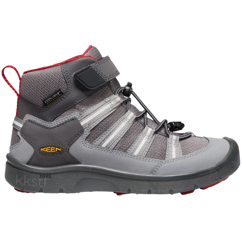 Keen Keen Hikeport 2 Sport Mid WP-Y Magnet/Chili Pepper
