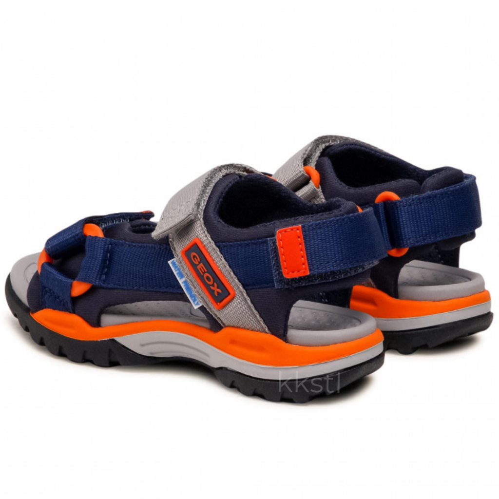 Geox Geox J Borealis (O/T) Navy/Orange