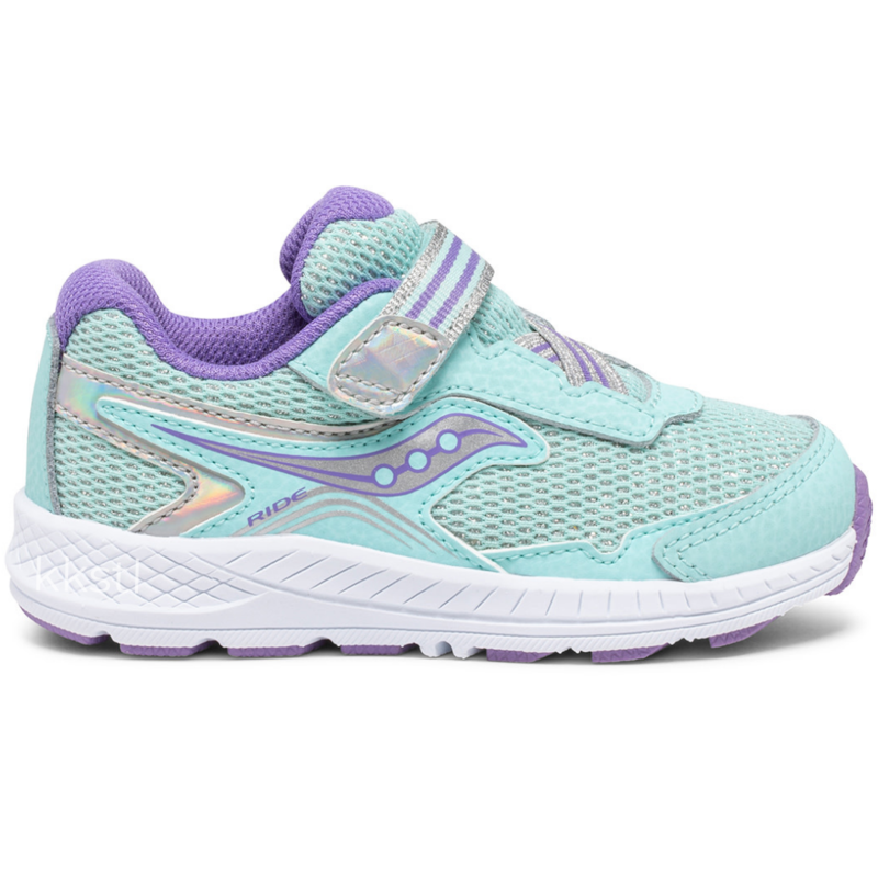 Saucony Saucony Ride 10 Jr Turquoise (Wide)