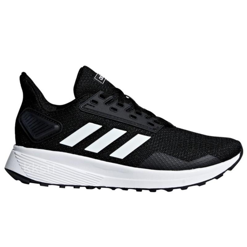 Adidas Adidas Duramo 9 K CBLACK/FTWWHT