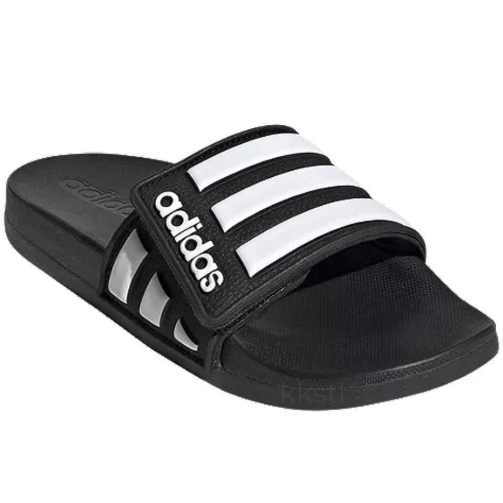 Adidas Adidas Adilette Comfort Adj CBLACK/FTWWHT