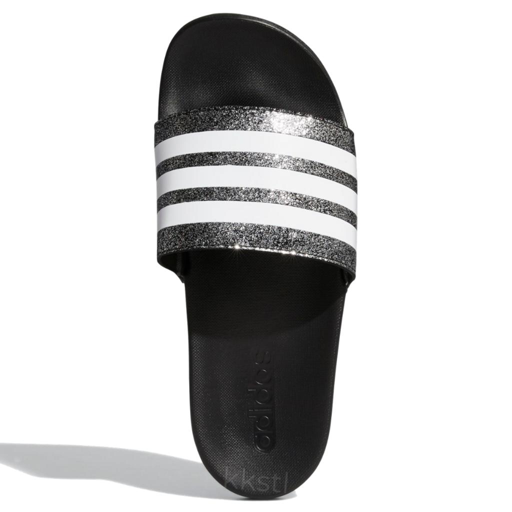 Adidas Adidas Adilette Comfort K Shiny Black