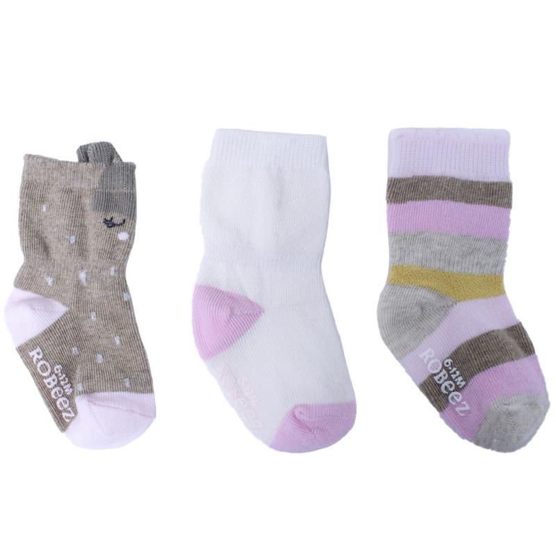 Robeez Robeez Socks Faye 12-24M (3PK)