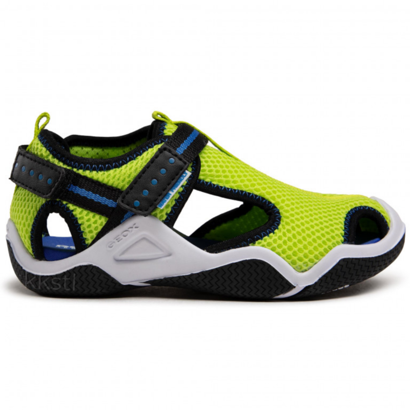 Geox Geox J Wader Lime/Electric Blue