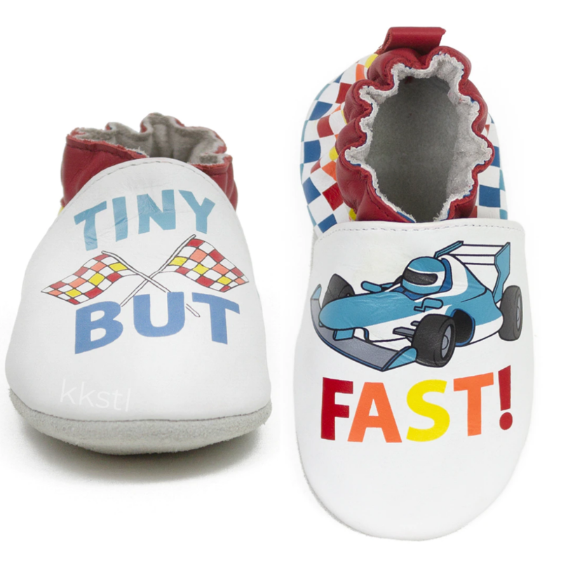 Robeez Robeez Soft Soles Tiny But Fast