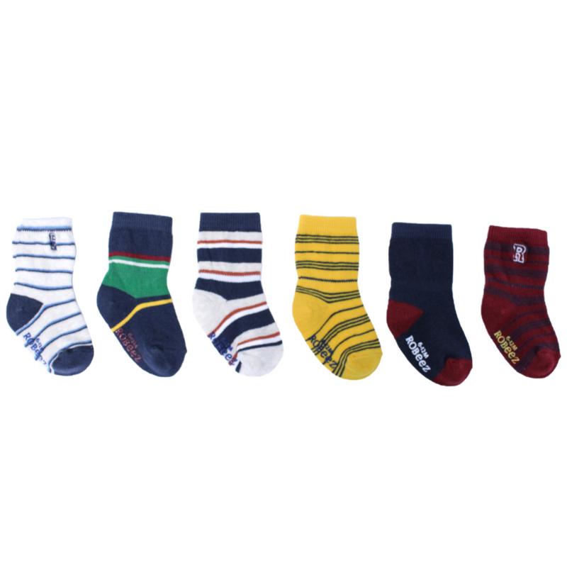 Robeez Robeez Socks Varsity (6 PK)