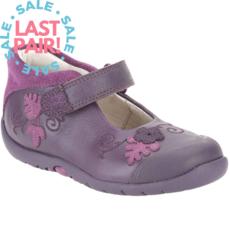 Clarks Softly Mya Purple (Toddler 6.5)