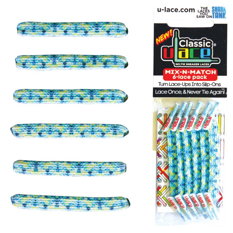 U-Laces Classic U-Laces Breeze Tie Dye