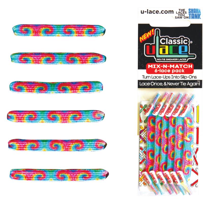 U-Laces Classic U-Laces 60's Tie Dye