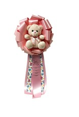 E&R BABY GIRL BOW DOOR RIBBON