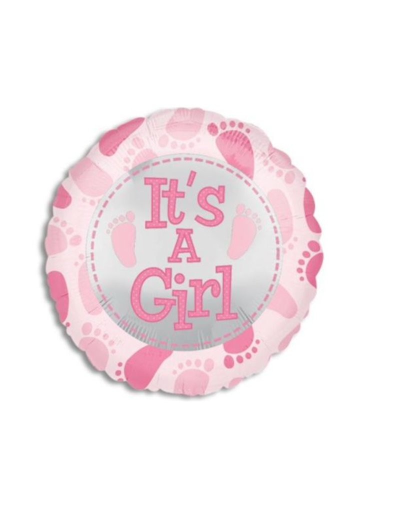 IT'S A GIRL BALLOON