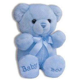 KLLIS BLUE BABY BEAR PLUSH COMFY BEAR