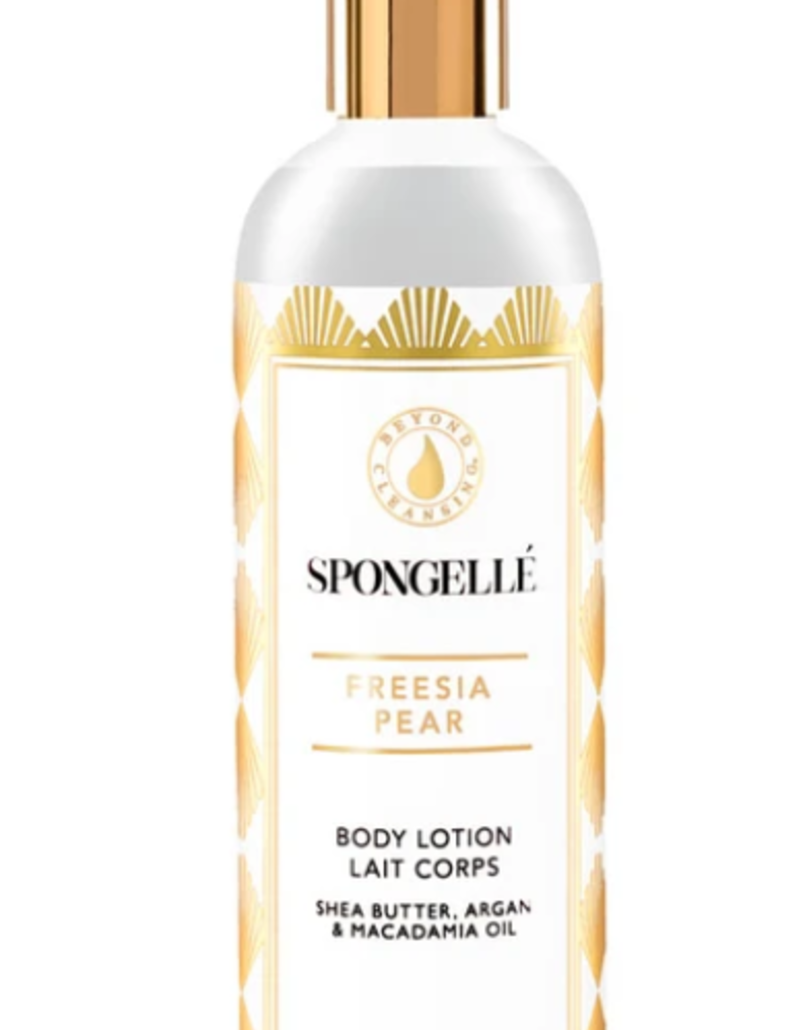 SPNGLL 12oz FREESIA PEAR BODY LOTION