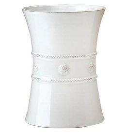 Juliska Berry and Thread Utensil Crock/Wine Cooler - Whitewash