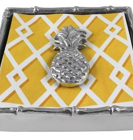 Mariposa Pineapple Cocktail Napkin Box