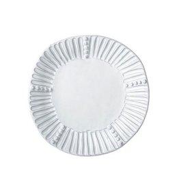 "Vietri Incanto Stripe Salad Plate - White - 9""D"