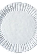 Vietri Incanto Stripe Service Plate/Charger - White