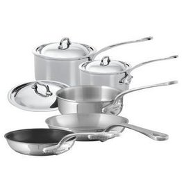 Mauviel 1830 M'cook 8 Piece Cookware Set - Stainless Steel