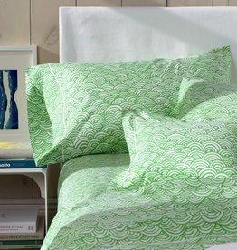 Matouk Arco King Pillowcase - Light Blue