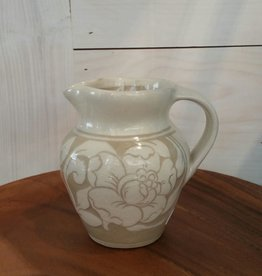 Shackleton Thomas Small Peony Jug - Cream Pitcher