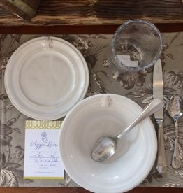 Juliska Stephanie & Michael's 2 pc Placesetting Add-on, Side Plate and Cereal Bowl