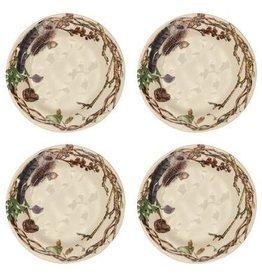 Juliska Forest Walk Party Plates - Set of 4