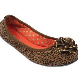 Lindsay Phillips Liz Ballet Flat - Leopard Print - Size 10