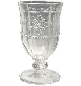 Juliska Colette Footed Goblet - Clear