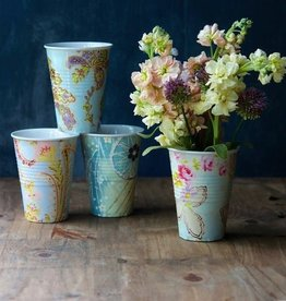 Melamine Paris Flea Market Cup - Set of 4