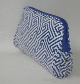 Large Cosmetic Bag - Geo Print