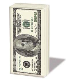 $100 Dollar Bill Tissue Pack