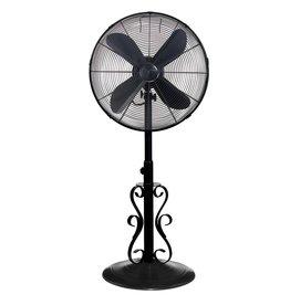 Outdoor Floor Fan - Black