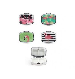 Flamingo Pill Box - Assorted