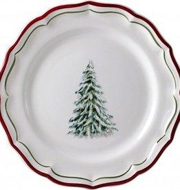 Gien Filets Noel Dessert Plates
